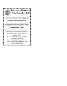 EMO advertisement volunteers [390735]